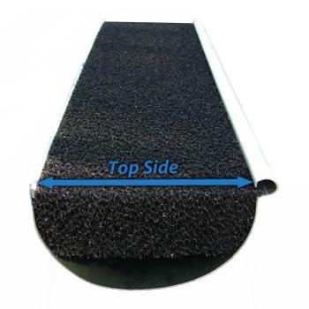 K Style Foam Gutter Filter