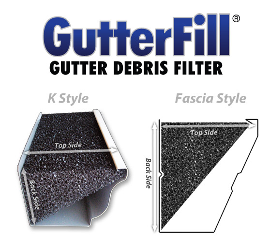 GutterFill®-   Sale:  Box of 32ft. / 8 Pieces  $49.99  FREE DELIVERY!